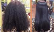 Кератирование (восстановление,  выпрямление) волос