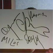 Продам автографы группы Океан Ельзы(все подписи)