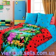 Предлагаю купить детское постельное белье Лунтик - Мила и мяч ТМ Непос
