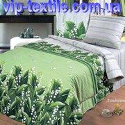 Продаем постельное белье полуторное Ландыши ТМ Зоряне сяйво