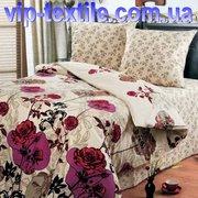 Продаем постельное белье полуторное Розалетто ТМ Романтика
