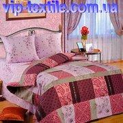 Продаем постельное белье полуторное Альпия ТМ Романтика