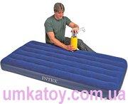 Продам надувной велюровый матрац Intex (Intex) 68757 DOWNY