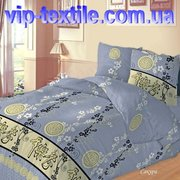 Предлагаем купить красивое постельное белье двухспальное Сакура ТМ Сол