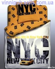 Продаем постельное белье полуторное New York ТМ Unison Teens