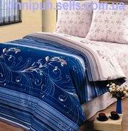 Продаем постельное белье полуторное Индиго ТМ Унисон