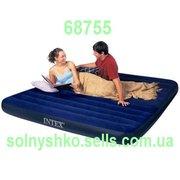 Предлагаем к продаже Intex 68755 Надувной матрас King Downy Royal Blue