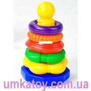 Предлагаем к продаже детскую пирамидку Власенко