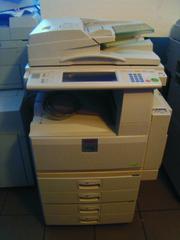 копир-принтер-сканер Ricoh Aficio 3035 прошёл 210 тысяч из Германии.