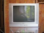Продам элт телевизор samsung б/у диаганаль 52 см
