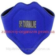 Турмалиновая накладка на шею(синяя).
