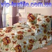 Предлагаем к продаже постельное белье Евро Маки беж ТМ Солодкий сон