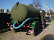 Вызов ассенизатора Днепропетровск. Выкачка сливных ям и туалетов