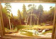 Репродукция картины И.И. Шишкина