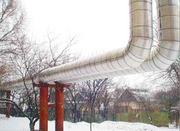 ФРП-1 :  Негорючая изоляция для труб ,   диаметры  57-1020 мм