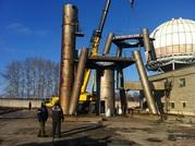 Демонтаж промышленных объектов,  оборудования,  спецтехники на металлоло