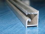 Профиль, вкладки алюминиевые для экспопанелей