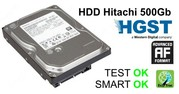 Жесткий диск,  HDD Hitachi 500Gb,  32Mb,  7200,  SATA III