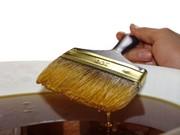 Житомер  Обработка льняным маслом выделяет текстуру дерева и придаёт м