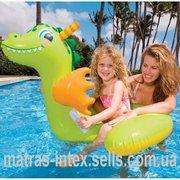 Предлагаем к продаже детский надувной плотик intex 56562 Дракон