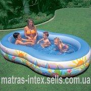 Продаем семейный бассейн 56490 Овал 2 яруса 262х160х46 см