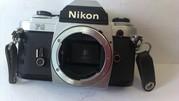 Nikon FG. Пленочный фотоаппарат. Рабочий.