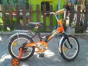детский двух колесный велосипед 16 дюймов