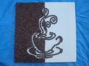 Панно кофейное ручной работы
