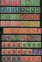 Почтовые марки Гемания Рейх