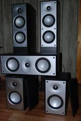 Продам Hi-Fi акустику Mordaunt Short 5.1 + ресивер Pioneer