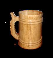 Бокал деревянный сувенирный 0, 5 л