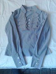 Рубашка школьная для девочки 9-11 лет