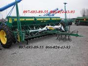 Сеялка зерновая Харвест 540 с прикатывающими колесами