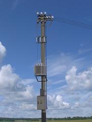Комплектная трансформаторная подстанция столбовая напряжением 10(6)/0,