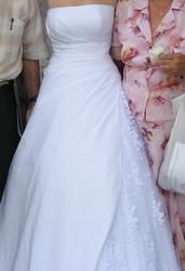 продам свадебное платье б/у (одевалось 1 раз) г.Днепропетровск