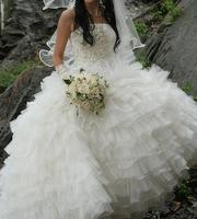 Продам свадебное платье б/у Днепропетровск