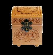 Шкатулка деревянная 7х7