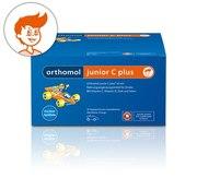 Orthomol junior C plus Витамины для укрепления иммунитета детей