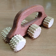 Массажер деревянный 6 роликов