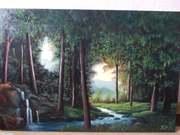 Картина маслом Таинственный лес