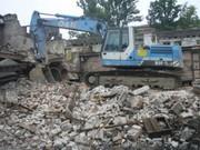 Демонтаж стен,  обоев,  плитки,  оконных и дверных блоков,  штукатурки