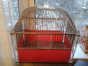 Продам клетку для птиц ручной работы