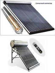 Солнечный вакуумный коллектор для нагрева воды
