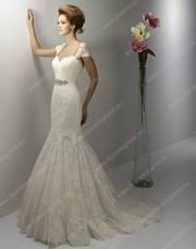Свадебное дизайнерское платье печты