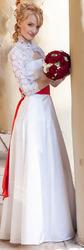 Свадебное платье,  Атлас