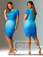 Красивое платье из стрейч гипюра