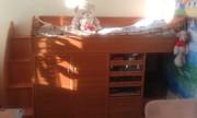 Двухъярусная кровать с ортопедическим матрасом