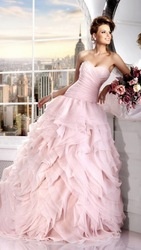 Необыкновенное свадебное платье!