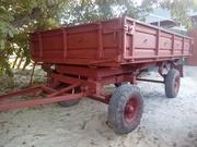 Б/у усиленный тракторный прицеп 2ПТС-4. Недорого
