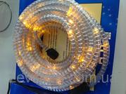Дюралайт LED 10м с контроллером светодиодный желтый